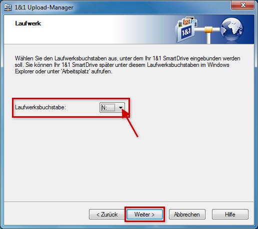 1und1 smartdrive upload manager
