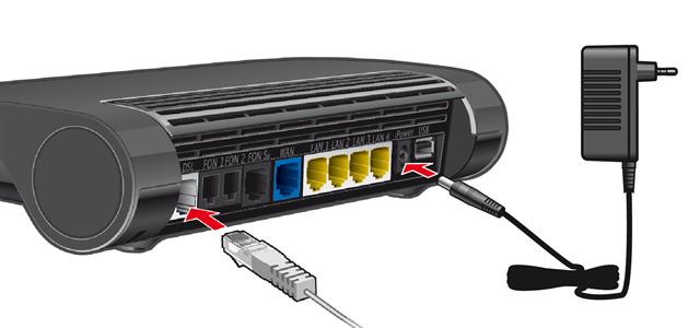 8&8 Hilfe Center - 8&8 DSL-Router einrichten