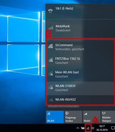 8&8 Hilfe Center - WLAN-Verbindung mit Windows 80 einrichten